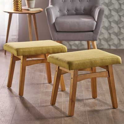 Boysen Ottoman Upholstery: Wasabi