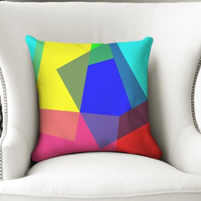 Ferrera Blocks Accent Throw Pillow Size: 24 x 24