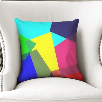 Fiala Blocks Accent Throw Pillow Size: 18 x 18