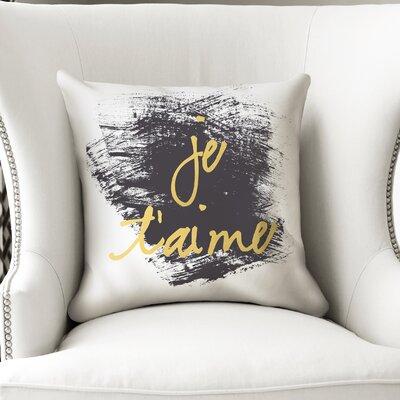 Roseanna Je Taime Throw Pillow