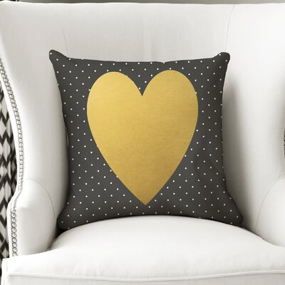 Roselee Heart Throw Pillow