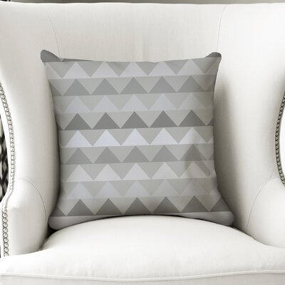 Gavin Throw Pillow Size: 18 H x 18 W x 5 D, Color: Grey