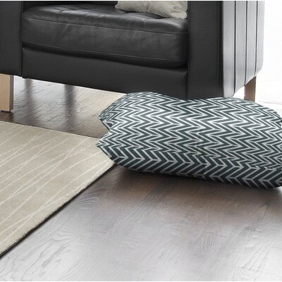 Marshall Floor Pillow Size: 23 H x 23 W x 9.5 D, Color: Teal