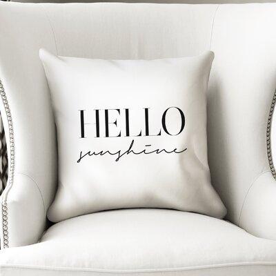 Davey Indoor/Outdoor Throw Pillow Size: 24 H x 24 W x 8 D