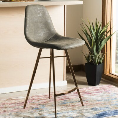 Fromm Counter Bar Stool Color: Taupe