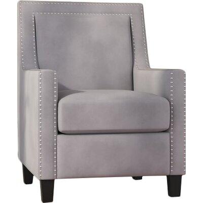 Trenton Armchair Upholstery: Gray