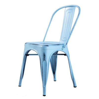 Gaige Dining Chair Color: Antique Sky Blue