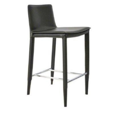 Vicenta 24 Bar Stool Seat Color: Brown