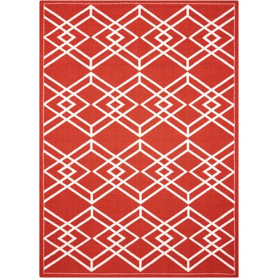 Felty Paprika Area Rug Rug Size: Rectangle 5 x 7