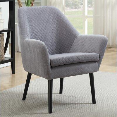 Nelida Armchair Upholstery: Gray
