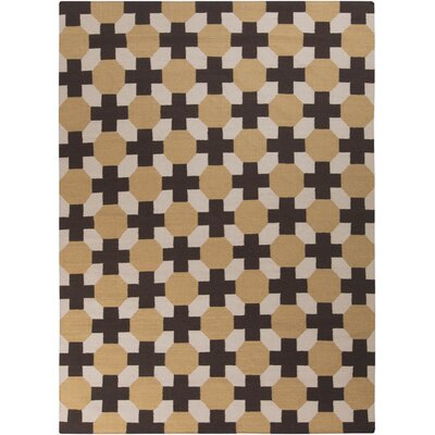 Wallace Checked Area Rug Rug Size: Rectangle 8 x 11