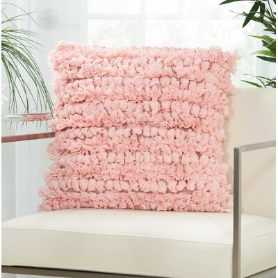 Newburyport Contemporary Throw Pillow Color: Rose, Size: 20 H x 20 W x 0.5 D