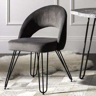 Malcom Side Chair Color: Dark Gray