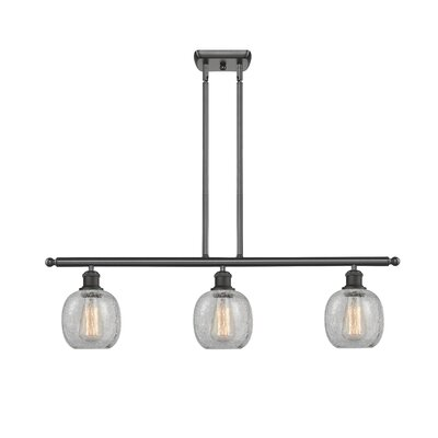 Raye 3-Light Kitchen Island Pendant Finish: Oil Rubbed Bronze