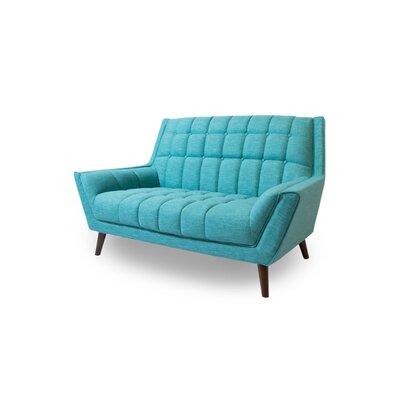 Avila Loveseat Upholstery: Turquoise