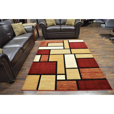 Mccampbell 3D Beige/Brown Area Rug