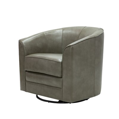 Mauldin Swivel Barrel Chair Upholstery: Quarry