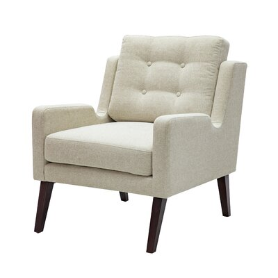 Maultsby Armchair Upholstery: Light�Cream
