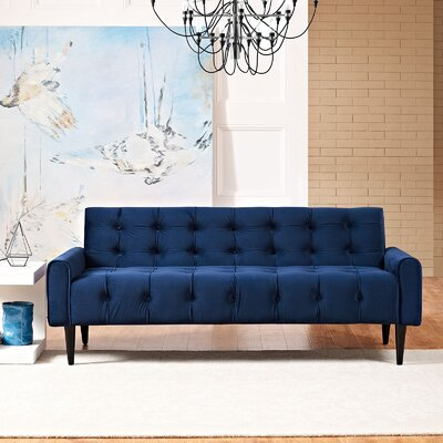 Hooper Sofa Upholstery: Navy