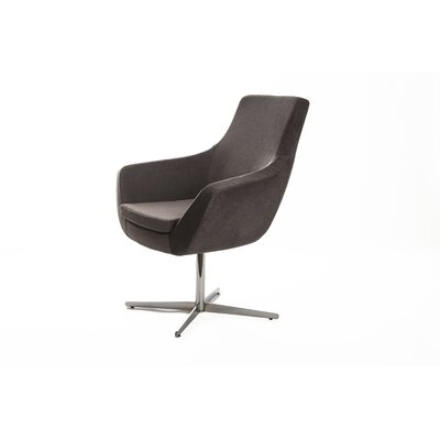 Mccaskill Swivel Lounge Chair Upholstery: Gray