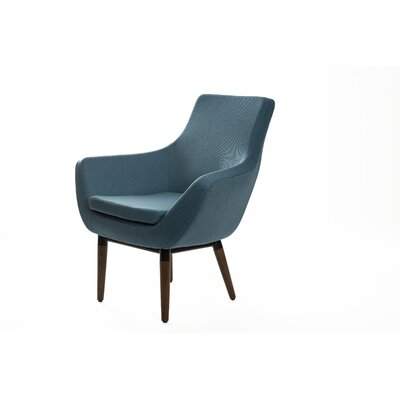 Mccaskill Swivel Lounge Chair Upholstery: Blue