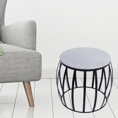 Danis Sophisticated Iron End Table