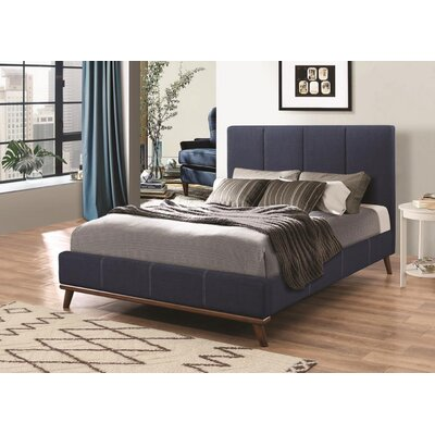 Faucette Upholstered Platform Bed Size: California King