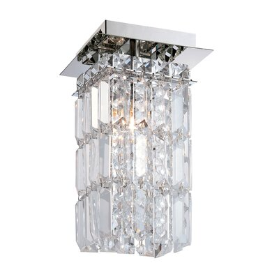 Cordova 1-Light Semi Flush Mount