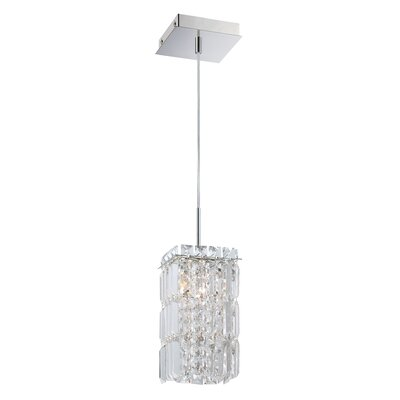 Cordova 1-Light Crystal Pendant