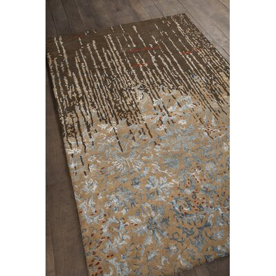 Holt Brown Area Rug Rug Size: 7'9