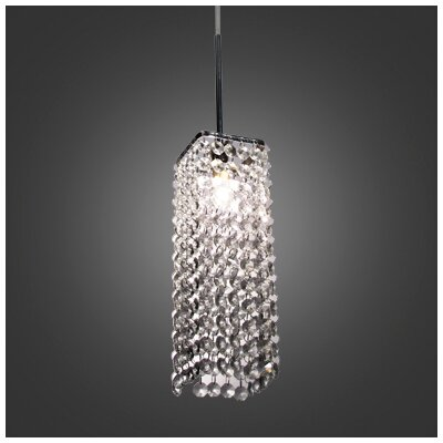 Thayer 1-Light Crystal Pendant