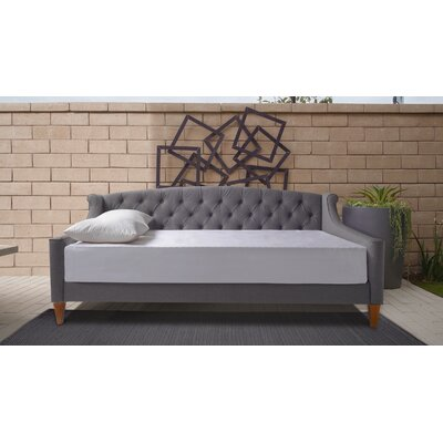 Maeve Upholstered Daybed Color: Steeple Gray