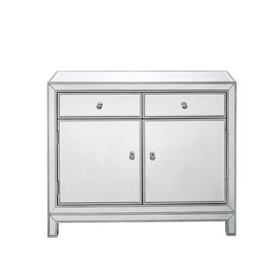 Mariaella 2 Drawers Nightstand