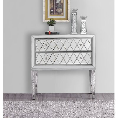 Mariaella 2 Drawer Nightstand