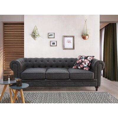 Brondesbury Chesterfield Sofa Upholstery : Gray