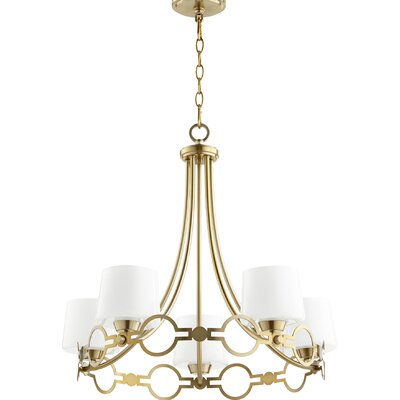 Brayshaw 5-Light Candle-Style chandelier