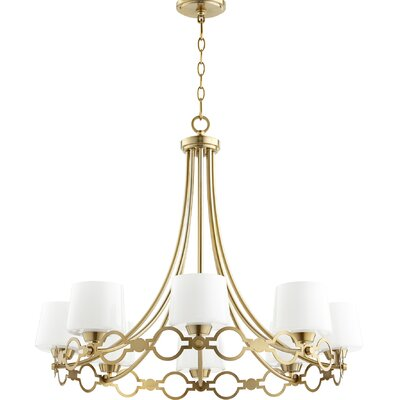 Brayshaw 8-Light Candle-Style chandelier