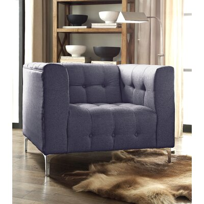 Sandi Armchair Upholstery: Gray