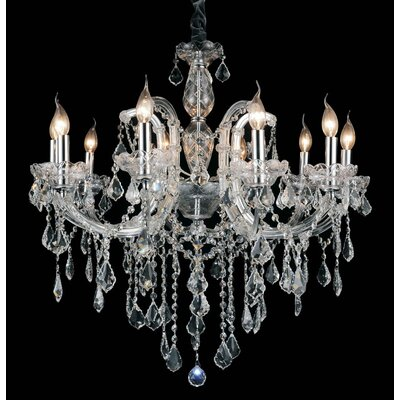 Richards 10-Light Candle-Style Chandelier