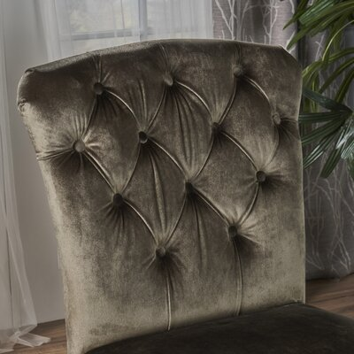 Binning Armless Upholstered Dining Chair