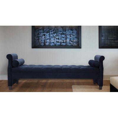 Deckard Upholstered Daybed Color: Dark Navy Blue