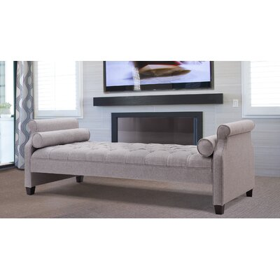Deckard Upholstered Daybed Color: Light Gray