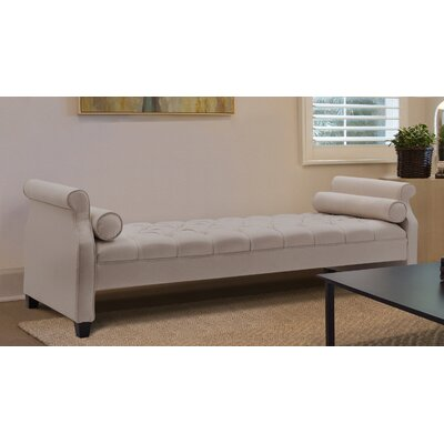 Deckard Upholstered Daybed Color: Sky Neutral