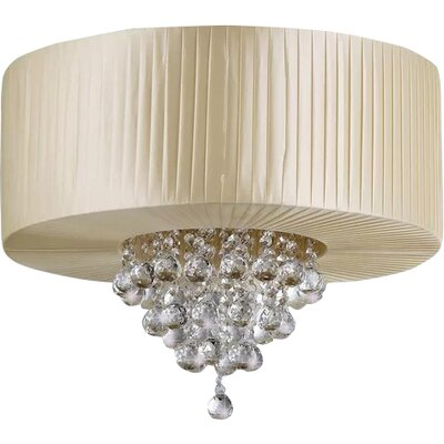 Brooklington 4-Light Flush Mount