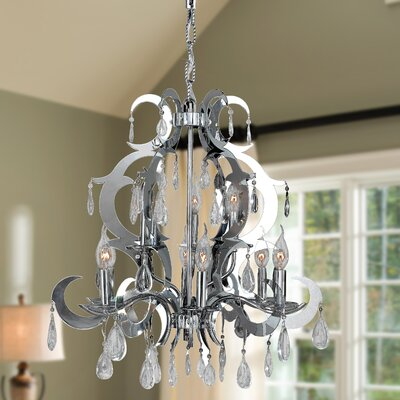 Rosemarie 9-Light Crystal Chandelier