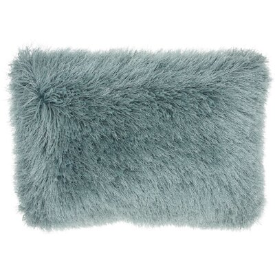 Boredale Shag Lumbar Pillow Color: Celadon