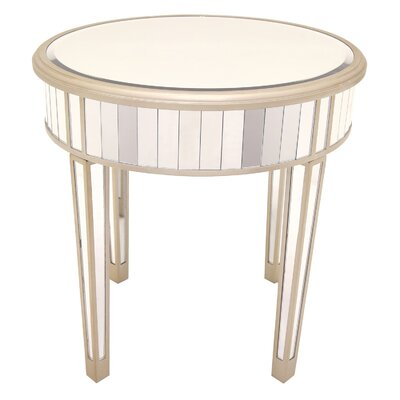 End Table Color: Champagne