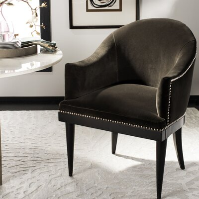 Knapp Upholstered Dining Chair Upholstery: Shale
