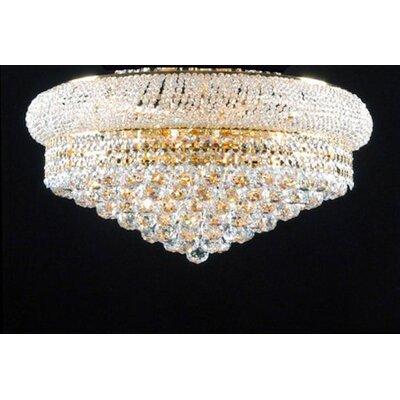 Stewart 15-Light LED Crystal Chandelier