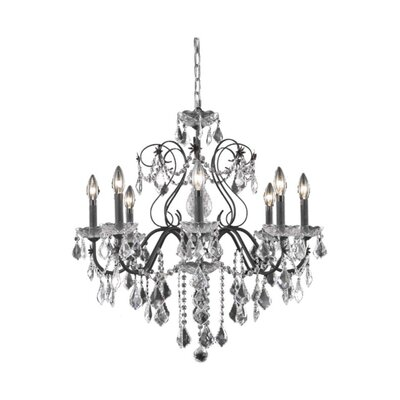 Thao 8-Light Crystal Chandelier Crystal Grade: Spectra Swarovski